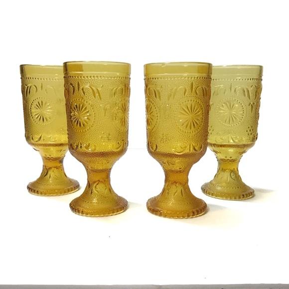 Vintage MCM Water goblets